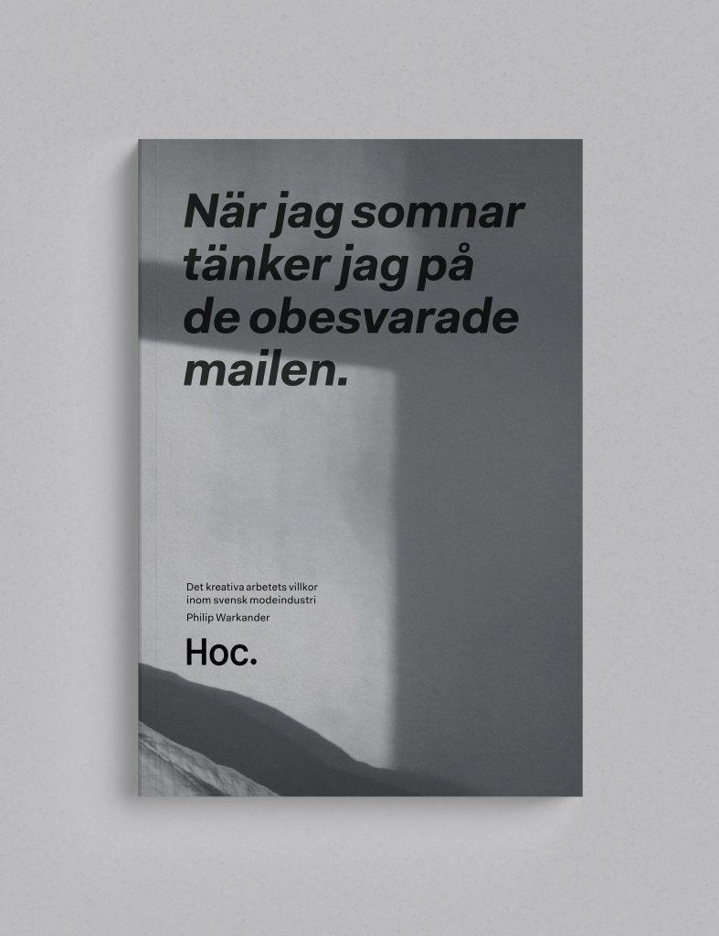 Bokomslag, Philip Warkander, Hoc Press, bokförlag, förlag
