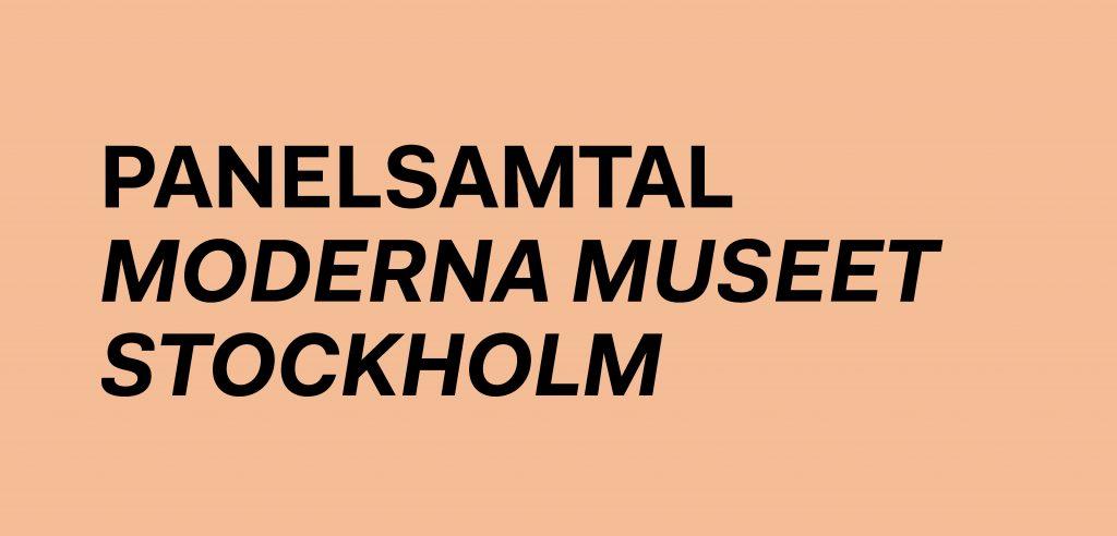 Hoc Press, panelsamtal, Moderna Museet, Philip Warkander, Dag Granath, Elsa Westerstad