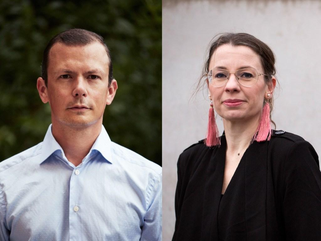 Porträtt, Marie Ledendal, Philip Warkander, Hoc Press, bokförlag, förlag